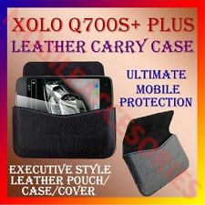 ACM-HORIZONTAL LEATHER CARRY CASE for XOLO Q700S+ PLUS MOBILE POUCH HOLDER COVER