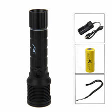 Trustfire Scuba Diving 2000Lm CREE XM-L2 LED Flashlight Torch Light 26650 Lamp