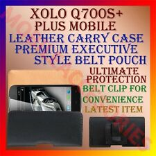 ACM-BELT CASE for XOLO Q700S+ PLUS MOBILE LEATHER CARRY POUCH HOLDER COVER CLIP