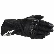 Alpinestars GP Plus Leather Racing Motorcycle Gloves Black
