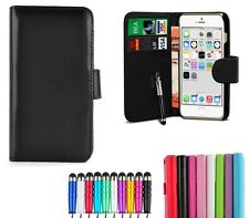 Flip Wallet Leather Case Cover for Apple iPhone 6 / 6s 4.7-Inch with Card Slots