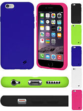 """Amzer Soft Silicone Skin Jelly Case Back Gel Cover For Apple iPhone 6 4.7"""" inch"""