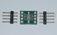 """Surface mount SOIC8 with Ground Pad to 0.1"""" DIL Adaptor Adapter Converter"""
