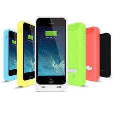 iFans® [Apple Certified] MFi 2400mAh iPhone 5/5S/SE/5C Universal Battery Case