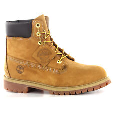 Timberland 6 Premium Wheat Nubuck Boys Girls Juniors Boots