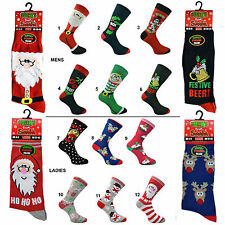 Christmas Novelty Socks Mens or Ladies Xmas Stocking Filler Secret Santa Gift