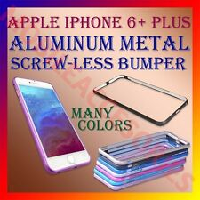 ACM-ALUMINUM BUMPER METAL CASE COVER SCREWLESS FRAME for APPLE IPHONE 6+ PLUS