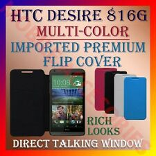ACM-MULTI-COLOR IMPORTED PREMIUM LEATHER CASE for HTC DESIRE 816G WALLET COVER