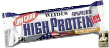 Weider 40% Protein Low Carb Bar 50 g Pernos pro 100 g)