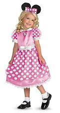 DISNEY PINK MINNIE MICKEY MOUSE CLUBHOUSE COSTUME DRESS DG50105 NEW
