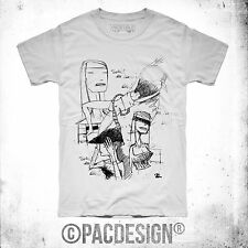 T-SHIRT UOMO DRAWING SKETCH WOMEN INDIE WHY SO VINTAGE GL0022A