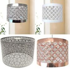Easy Fit Moda Sparkly Ceiling Pendant Light Shade Fitting Modern Decoration New