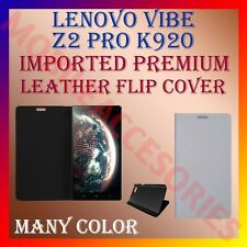 ACM-MULTI-COLOR IMPORTED RICH LEATHER CASE for LENOVO VIBE Z2 PRO K920 COVER NEW