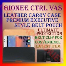 ACM-BELT CASE for GIONEE CTRL V4S MOBILE LEATHER POUCH CARRY COVER CLIP HOLDER