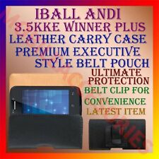ACM-BELT CASE of IBALL ANDI 3.5KKE WINNER PLUS LEATHER POUCH CARRY COVER HOLDER