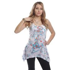 Innocent Top ANCHORS AWAY LACE PANEL VEST