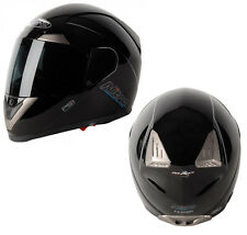 NITRO N-PSI PUMP UNO DVS FULL FACE MOTORBIKE MOTORCYCLE HELMET - GLOSS BLACK
