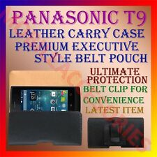 ACM-BELT CASE for PANASONIC T9 MOBILE LEATHER POUCH CARRY COVER CLIP HOLDER NEW