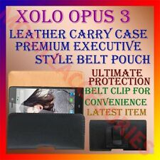 ACM-BELT CASE for XOLO OPUS 3 MOBILE LEATHER POUCH COVER CLIP HOLDER PROTECT NEW