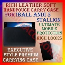 ACM-RICH LEATHER SOFT CASE for IBALL ANDI 5 STALLION MOBILE HANDPOUCH COVER NEW