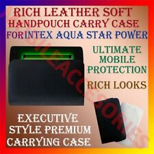 ACM-RICH LEATHER SOFT CASE for INTEX AQUA STAR POWER MOBILE HANDPOUCH COVER NEW