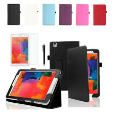 """Leather Folding Folio Case Cover For Samsung Galaxy Tab Pro 8.4"""" SM-T320/T321"""