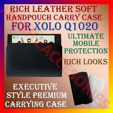 ACM-RICH LEATHER SOFT CASE for XOLO Q1020 MOBILE HANDPOUCH PREMIUM COVER HOLDER