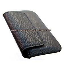 ACM-HORIZONTAL LEATHER CARRY CASE for IBALL ANDI 4F WAVES MOBILE POUCH COVER