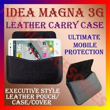 ACM-HORIZONTAL LEATHER CARRY CASE of IDEA MAGNA 3G MOBILE POUCH COVER HOLDER