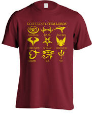 Stargate SG1 - Goa'uld System Lord Emblem TV Series T-shirt