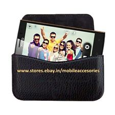 ACM-HORIZONTAL LEATHER CARRY CASE for XOLO Q1020 MOBILE RICH POUCH COVER HOLDER