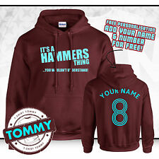 West Ham Hoodie Its a Hammers Thing! COYI ?Hammers Hoody, WHFC