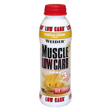 WEIDER MUSCOLO Low Carb Drink 500 ML500 ml Flacone in PET (PRO 1000 ml)