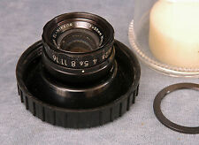 EL-NIKKOR 50MM F2.8 SINGLE COATED ENLARGING LENS W/BUBBLE & M39 RING #688