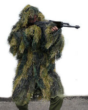 Tarnparka Ghillie antifire woodland, Paintball    -NEU-