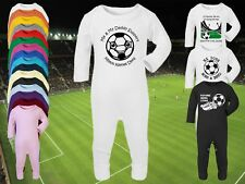 MILTON KEYNES/MK DONS Football Baby ROMPER Sleep Suit Personalised Gift-Any team