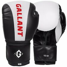 Gallant Gel Boxing Sparring Gloves Punch Bag Training MMA Muay Thai Fight Mitts