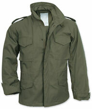 Men's Olive M65 US Field Military Jacket Combat Army Quilted Parka Coat Top