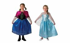 DISNEY FROZEN ANNA AND ELSA COSTUMES, LICENSED FANCY DRESS