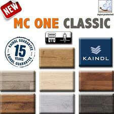 Parquet laminato Kaindl MC-ONE CLASSIC acquastop in 7 essenze diverse