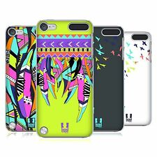 HEAD CASE DESIGNS NEON FEATHERS HARD BACK CASE FOR APPLE iPOD TOUCH 5G 5TH GEN