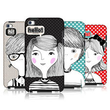 HEAD CASE DESIGNS COUPLE HI HELLO HARD BACK CASE FOR APPLE iPOD TOUCH 4G 4TH GEN