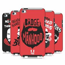 HEAD CASE DESIGNS BEARDED BRAVADO HARD BACK CASE FOR APPLE iPOD TOUCH 4G 4TH GEN