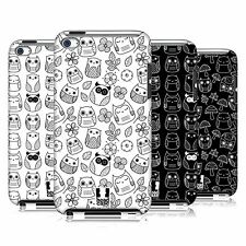 HEAD CASE DESIGNS DOODLE OWLS HARD BACK CASE FOR APPLE iPOD TOUCH 4G 4TH GEN