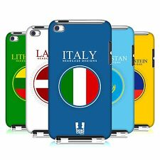 HEAD CASE DESIGNS FLAG PATCHES SET 2 CASE FOR APPLE iPOD TOUCH 4G 4TH GEN