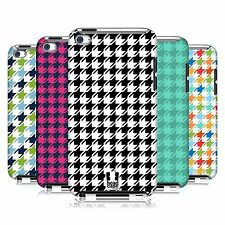 HEAD CASE DESIGNS HOUNDSTOOTH PATTERNS CASE FOR APPLE iPOD TOUCH 4G 4TH GEN