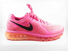 Womens Original Nike Air Max 2014 Hyperfuse  Hyper Pink Trainers 621078601