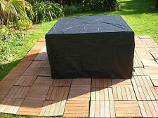 COVER COVERS FURNITURE RATTAN WICKER COVER 4 6 SEATER CUBE GARDEN STRONG PVC