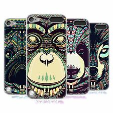 HEAD CASE AZTEC ANIMAL FACES SERIES 3 GEL CASE FOR APPLE iPOD TOUCH 5G 5TH GEN