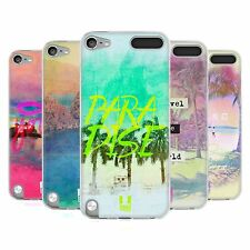 HEAD CASE BEACH LOVIN SILICONE GEL CASE FOR APPLE iPOD TOUCH 5G 5TH GEN